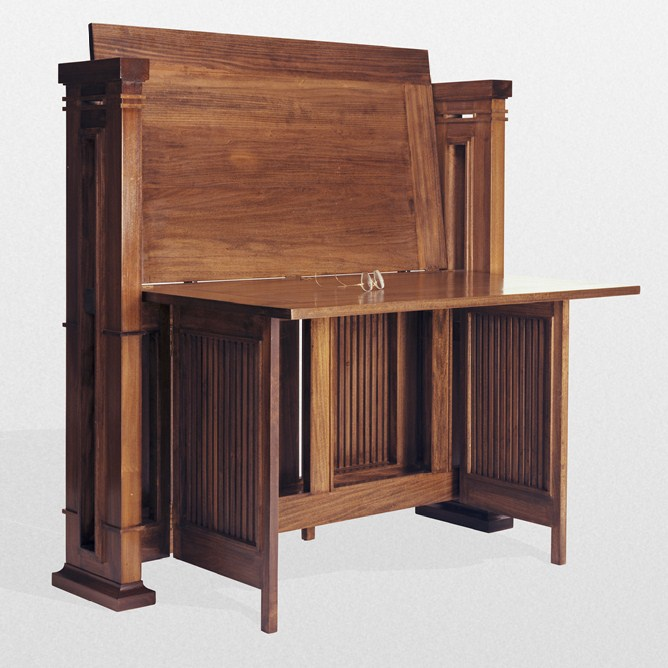 Merveilleux Frank Lloyd Wright Japanese Print Table Circa 1900 Sold To Chicago Museum  (l). Reproduction ...